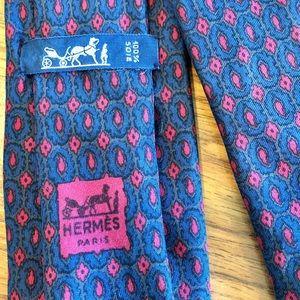 Hermès Paris Silk Tie